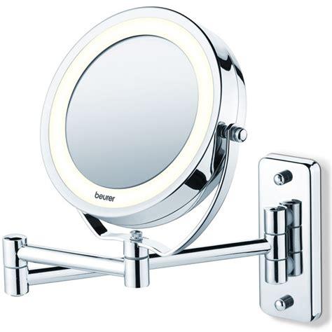 beurer miroir grossissant lumineux x5 avec fixation