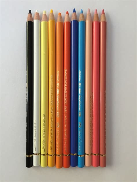 polychromos colored pencils prismacolor premiers vs faber castell polychromos colored