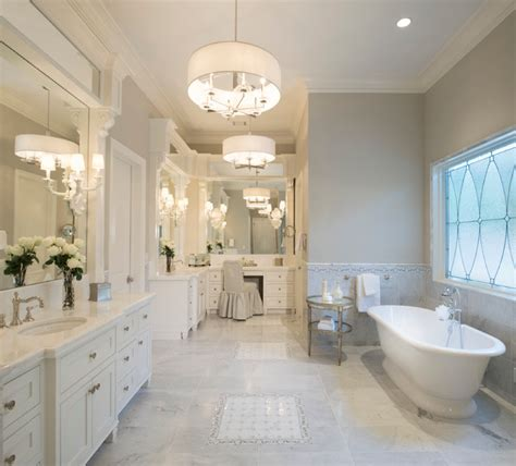 Contemporary Bathroom Vanity Ideas - southern traditional transitional bathroom houston by matt powers custom homes amp renovations