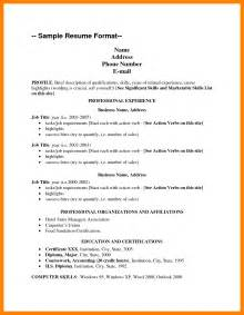 List Of Resume Skills Exles by 11 Resume Skills List Exle Resume Emails