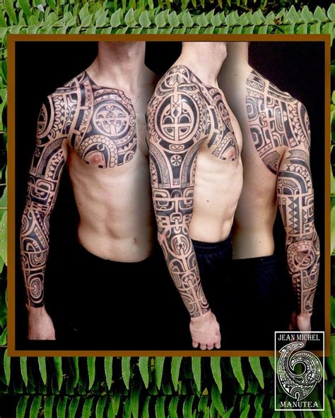 marquesan tribal tattoo tatouage polynesien polynesian tribal tatouage