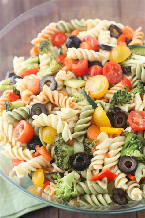 pasta salad italian dressing italian pasta salad tastes better from scratch
