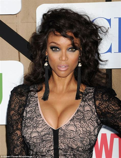 Tyras Fashion Misstep by Busting Out Supermodel Banks Flaunts Le