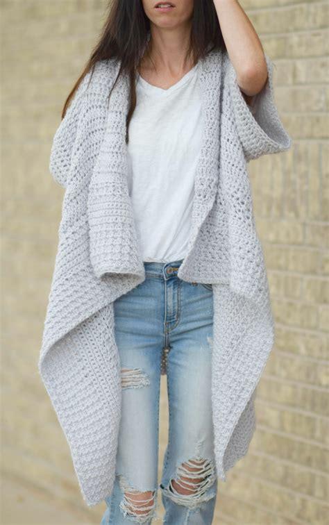 crochet pattern kimono sweater cascading kimono cardigan crochet pattern mama in a stitch