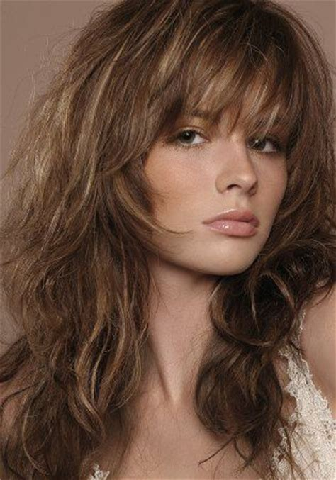 haircuts for thin curly hair with bangs thin wavy hair messy hairstyles and hairstyles with bangs