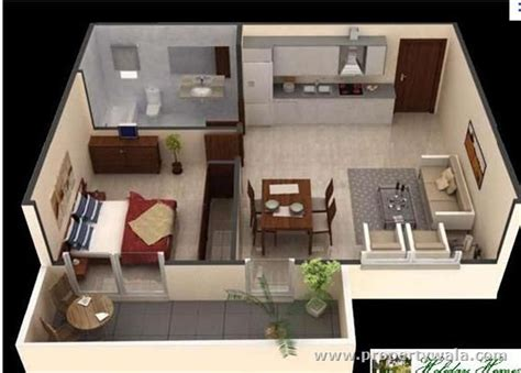one bedroom apartment designs exle 124 best images about maquetas on bedroom