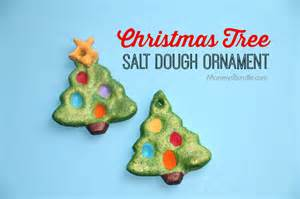 christmas tree salt dough ornament mommy s bundle