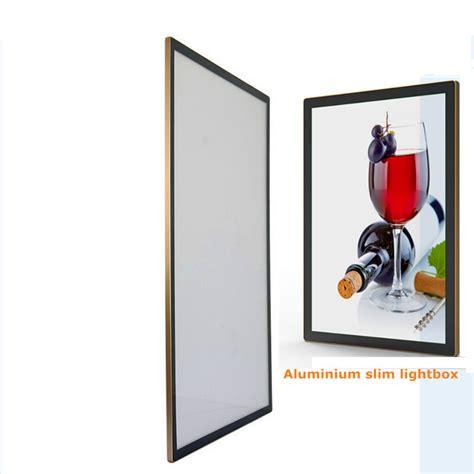 slim light box led a1 size aluminium bending frame advertising led lightbox