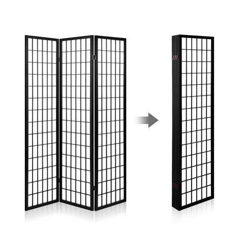 Room Divider 6 Panel Black 6 Panel Room Divider