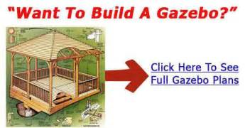 How To Build An Octagon Gazebo by Build Wooden Gazebo Plans Diy Plans To Build A Wood