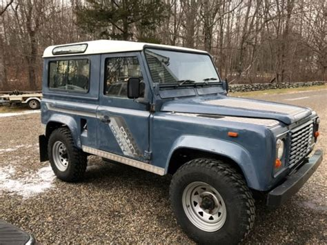 1990 land rover defender 90 1990 land rover defender 90 county for sale land rover