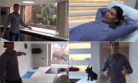 cristiano ronaldo y su casa cristiano ronaldo abre el spa de su casa y revela algo curioso