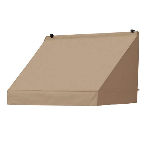 awning retractable manually awnings in a box 4 ft traditional manually retractable
