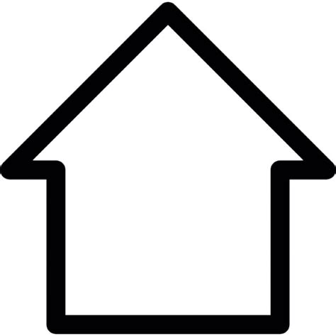 Image Outline by Outline Of A House Icons Free