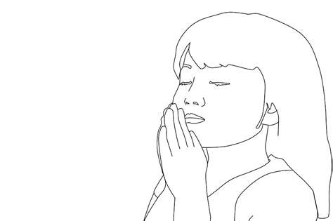 template of praying praying coloring pages