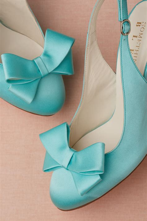 Wedding Shoes Turquoise by Turquoise Blue Wedding Shoes By Bhldn Onewed