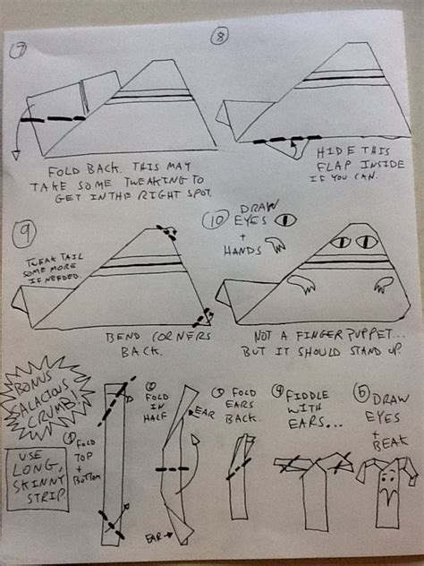How To Fold Origami Chewbacca - jabba2 jpg