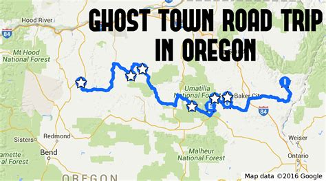 map of oregon ghost towns this ghost town road trip in oregon is the