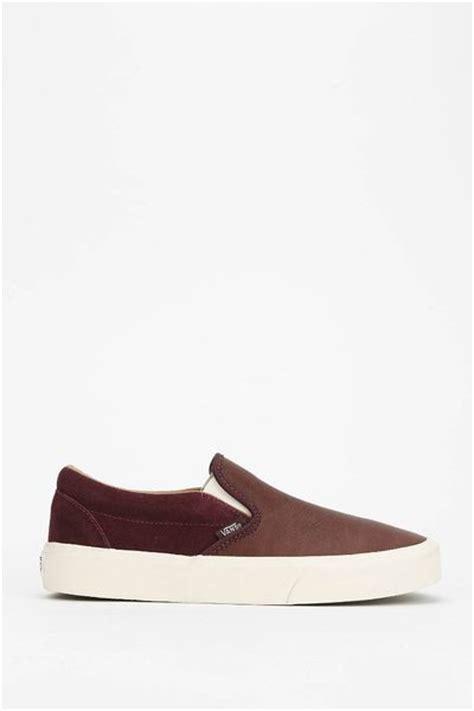 Nike Slip On Maroon vans torino slip on sneaker in brown maroon lyst