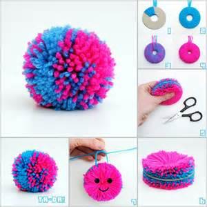 creative decorations creative ideas diy easy yarn pompoms