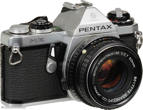 recommended film slr pentax me review
