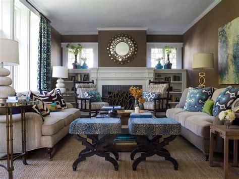 brown  blue interior color schemes   earthy