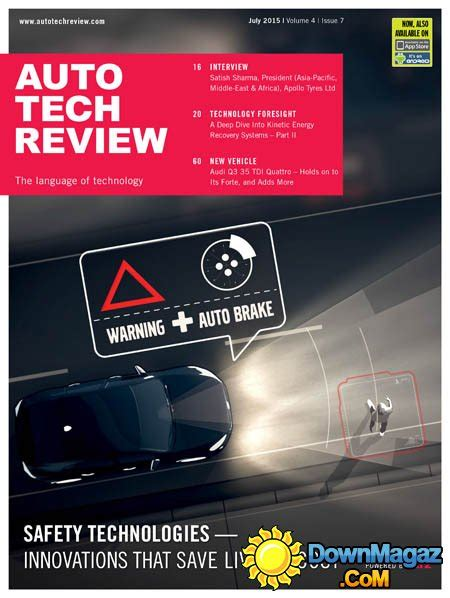 Auto Tech Review   July 2015 » Download PDF magazines