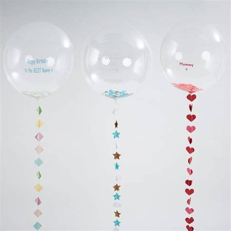 Handmade Balloons - personalised large balloon with handmade by