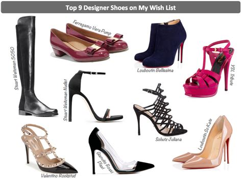 top 9 designer shoes on my wish list happy pursuits