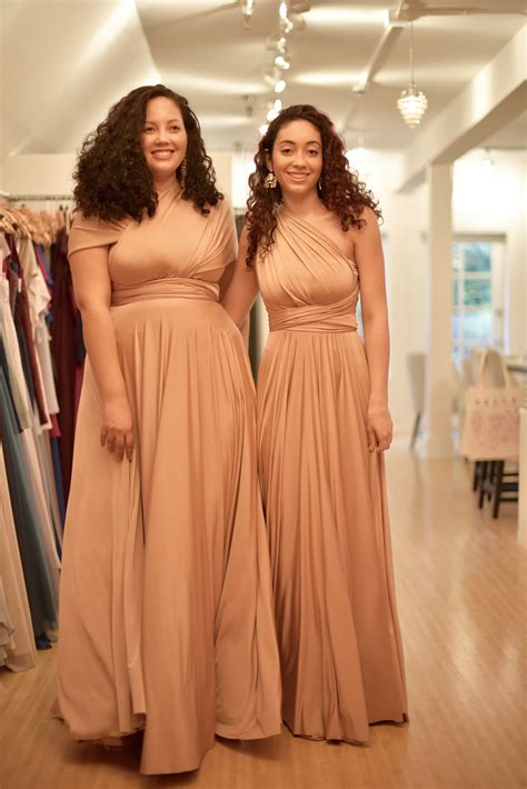 Bridesmaid Dresses For Different Sizes - bridesmaid shopping