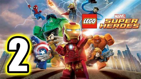 tutorial lego marvel superheroes lego marvel super heroes walkthrough part 2 ps3 lets