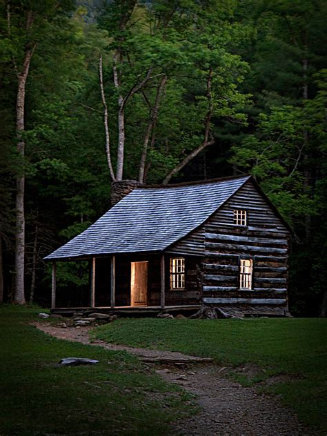 Great Smoky Mountains Cabins Shields Cabin Cades Cove Great Smoky Mountains