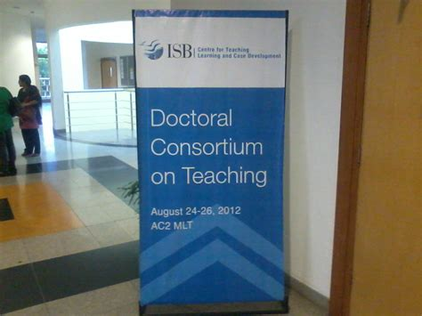 Consortium Mba Draft Day by The Of Teaching Mba Students My Learning At Isb