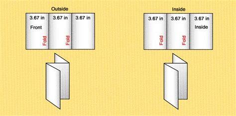 z fold brochure template word z fold brochure template word 14 standard types brochure