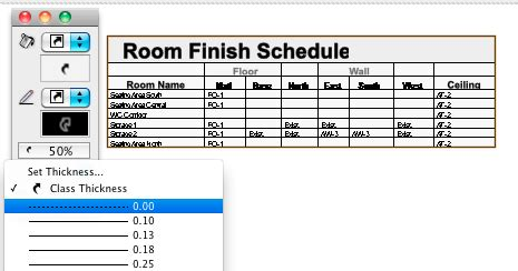 Archicad Green Line Download For Pc Picloadzone Room Finish Schedule Template