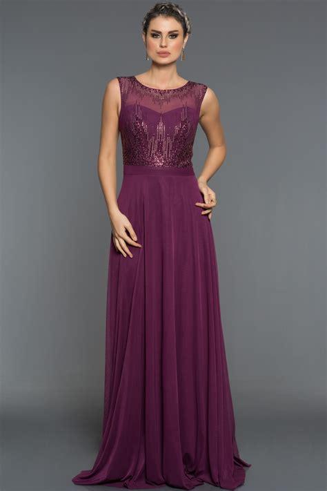 abiye elbise modelleri gece davet mezuniyet dn elbiseleri uzun mor taşlı abiye elbise c7344 abiyefon com