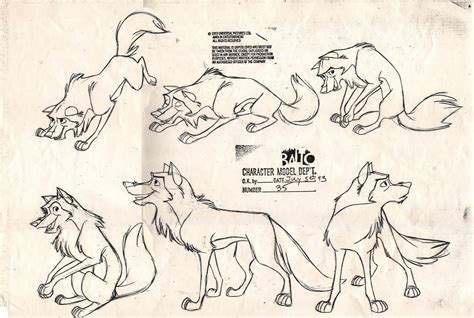 alex and warios adventures of 101 dalmations concept design character design balto part 1