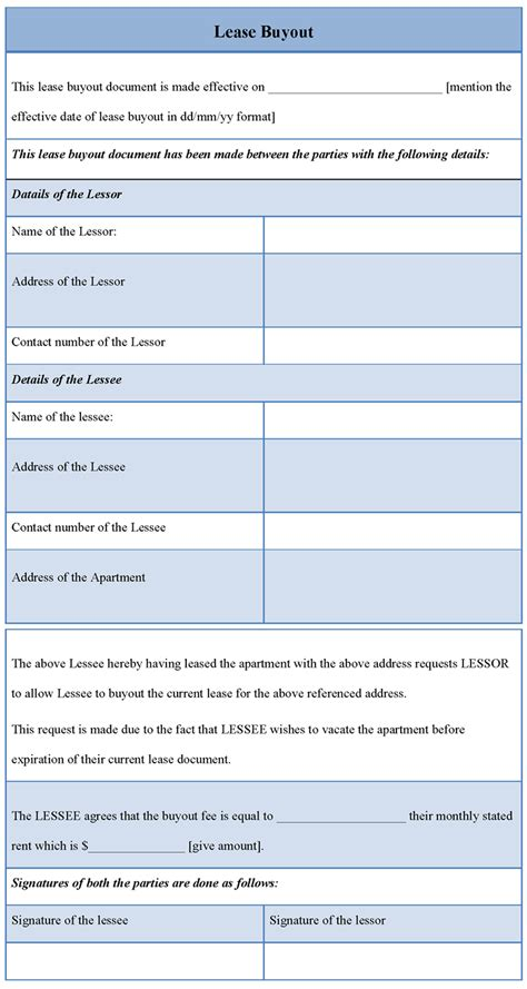 Car Lease Buyout Letter Lease Buyout Exle Of Lease Buyout Sle Templates