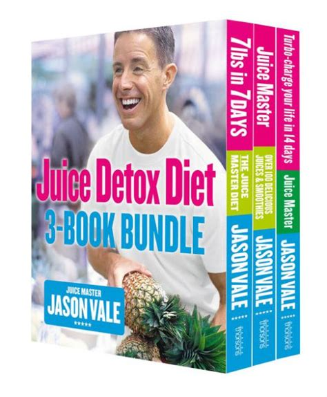 Juice Detox Book by The Juice Detox Diet 3 Book Collection By Jason Vale