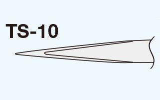 Goot Ts 10 Pinset Tweezers Original goot precision tweezers standard ts 10