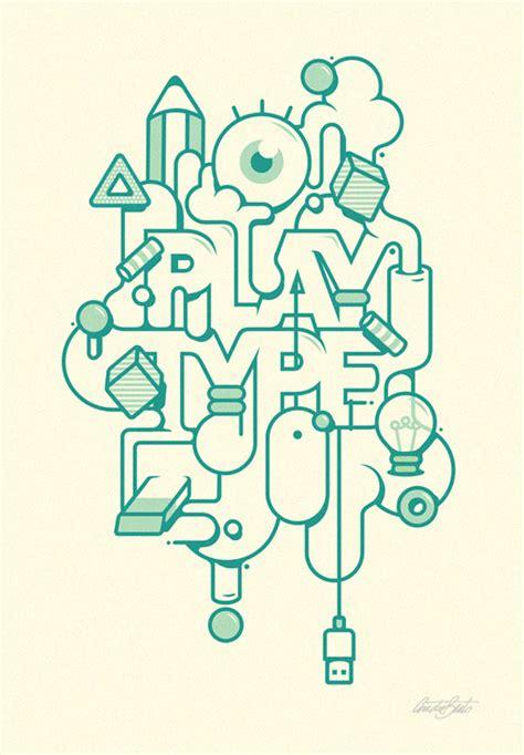 typography illustrator typographic artworks by andr 233 beato