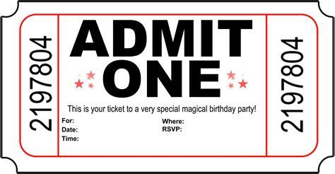 printable movie invitation templates birthday party invitation free printable printshop