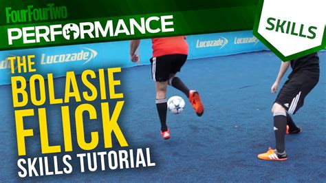 skill football freestyle tutorial bolasie flick skill tutorial with dc freestyle football