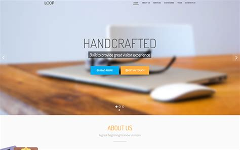 themes bootstrap agency download loop agency and personal bootstrap theme v1 1 1