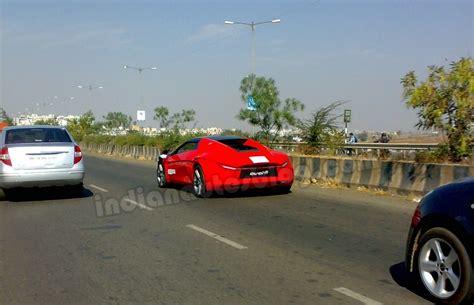 indian car spied dc avanti caught testing in pune