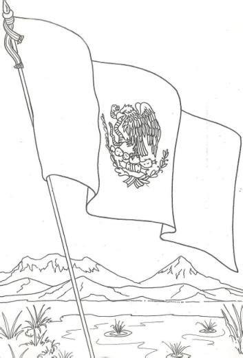 imagenes para colorear bandera de mexico dibujos de la bandera de m 233 xico para descargar imprimir y
