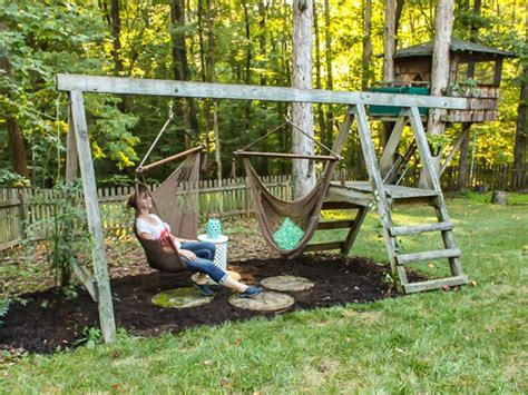 unique swings for kids 50 diy yard decorating ideas photos shutterfly
