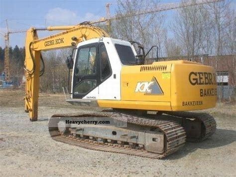 daewoo s175lc 2004 caterpillar digger construction