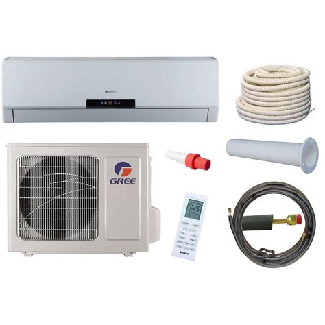 installation ductless mini split 410a air conditioner heat mitsubishi compressor aircon unit kelvinator 1 5 ton 13 seer r 410a split system package central air conditioning system