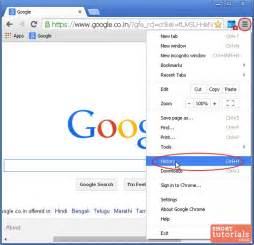 How to clear delete browsing history in google chrome browser